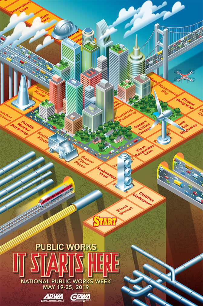 National Public Works Week Poster