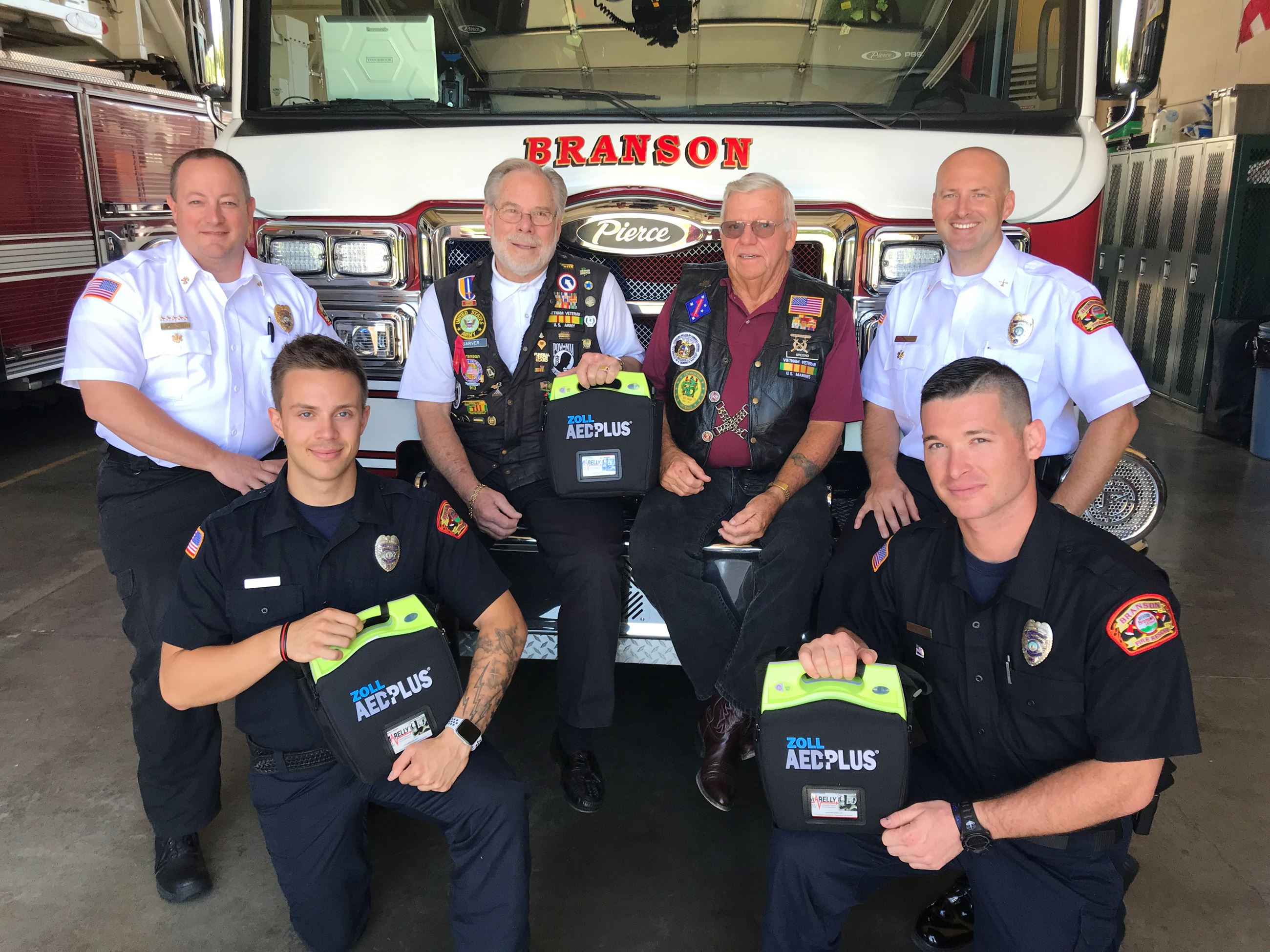 BFD AED Donation