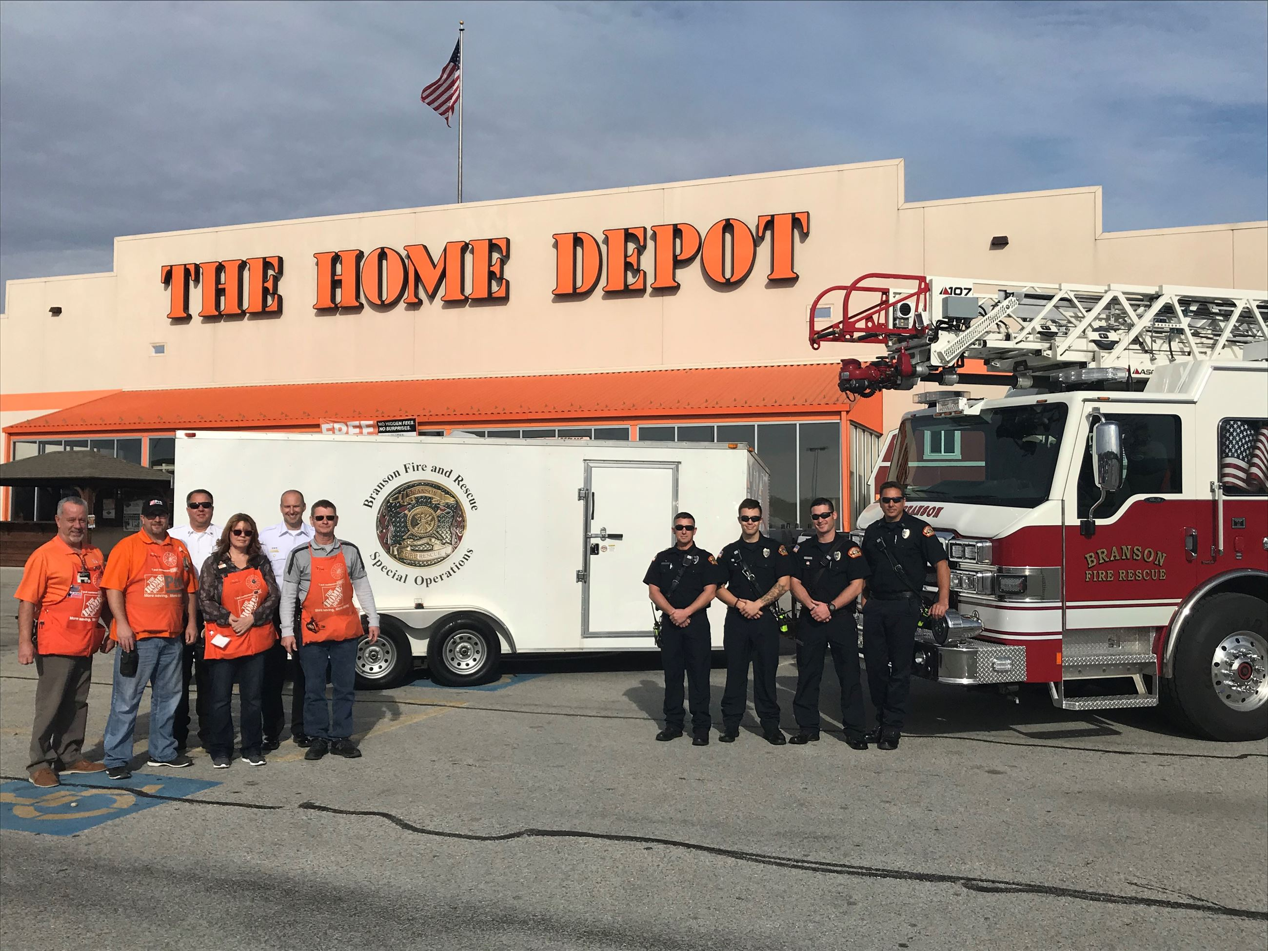 Home Depot Donation 1