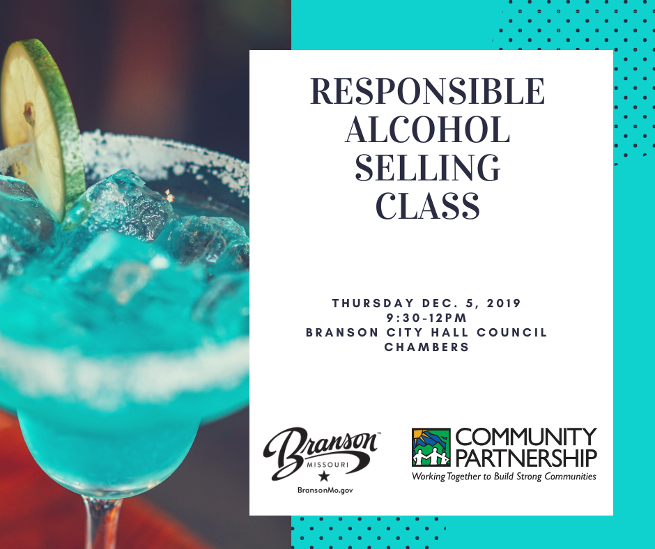 Responsible alcohol selling class Dec. 2019