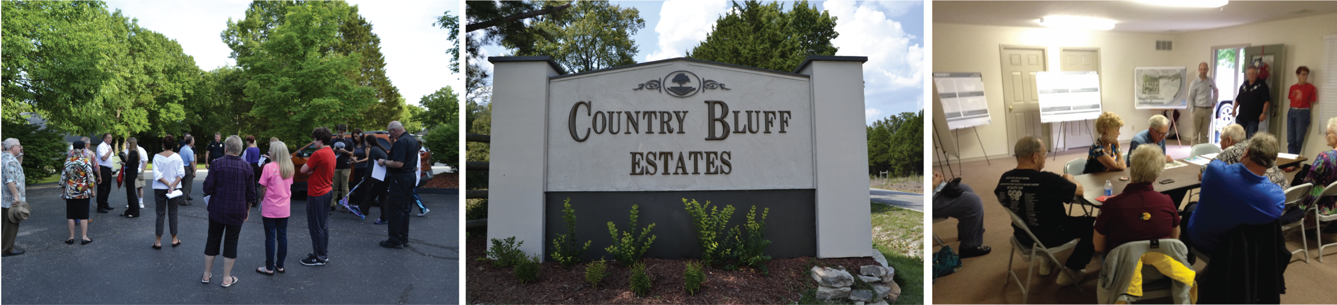 Country Bluff Neighborhood Projects