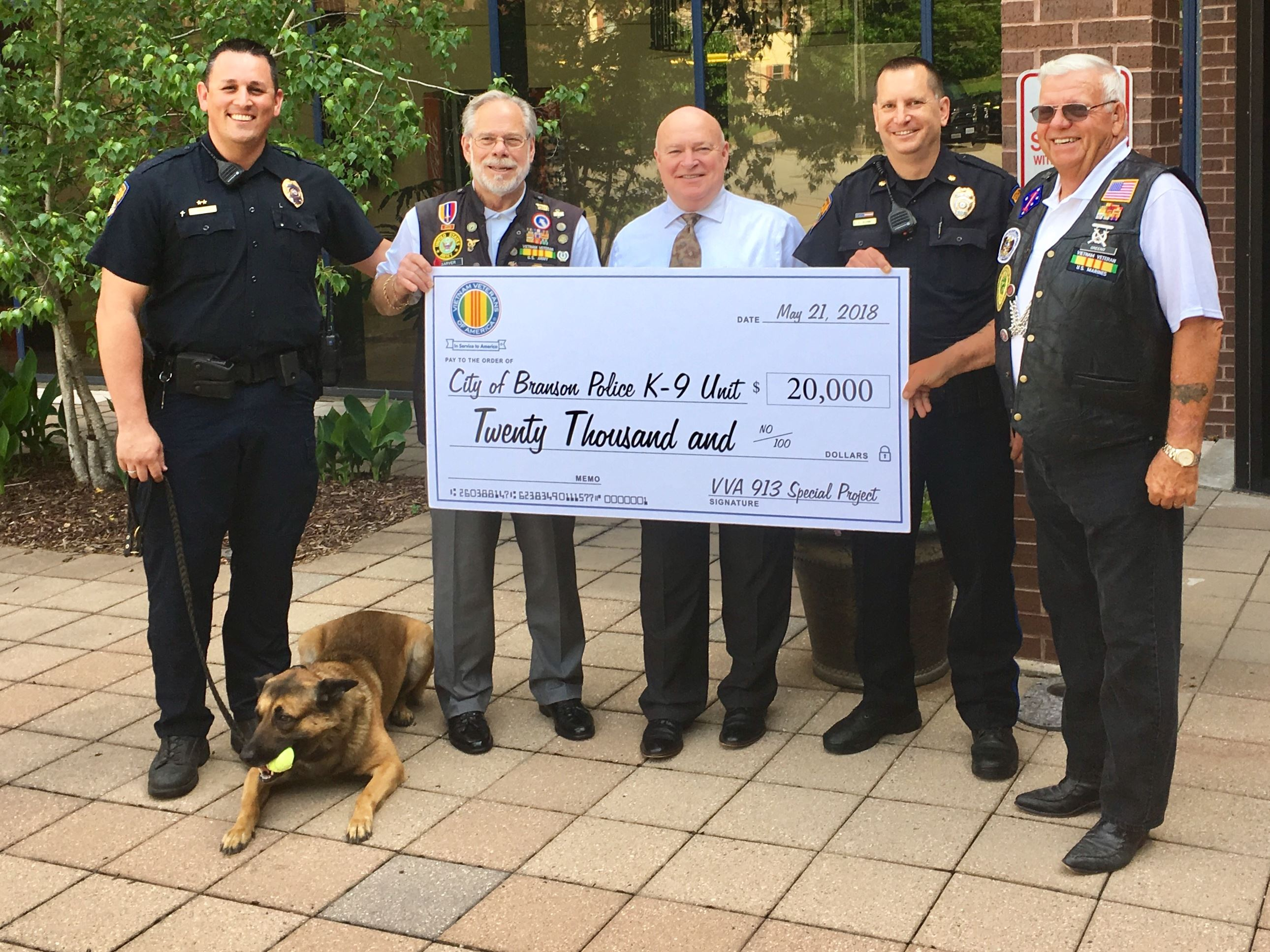 donation for k9